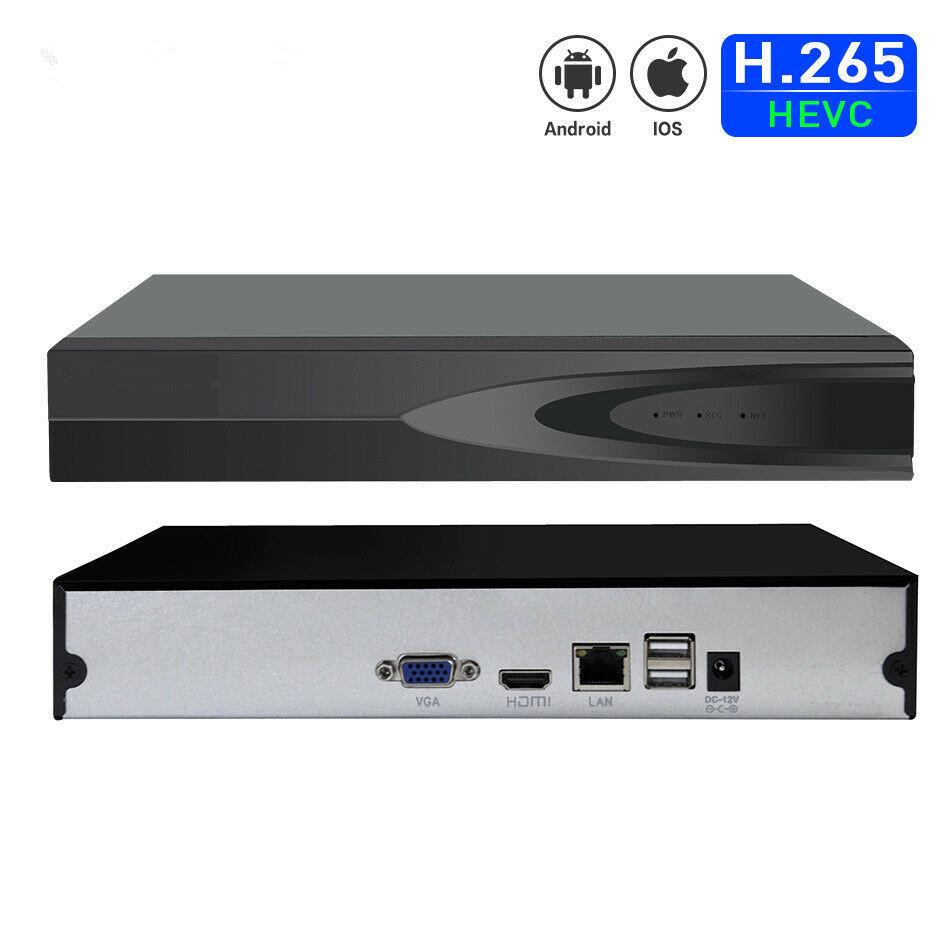 H.265 16CH hd 5mp 4mp High Quality Network Video Recorder ONVIF cctv  NVR dvr 16 channel  P2P CCTV onvif NVR System