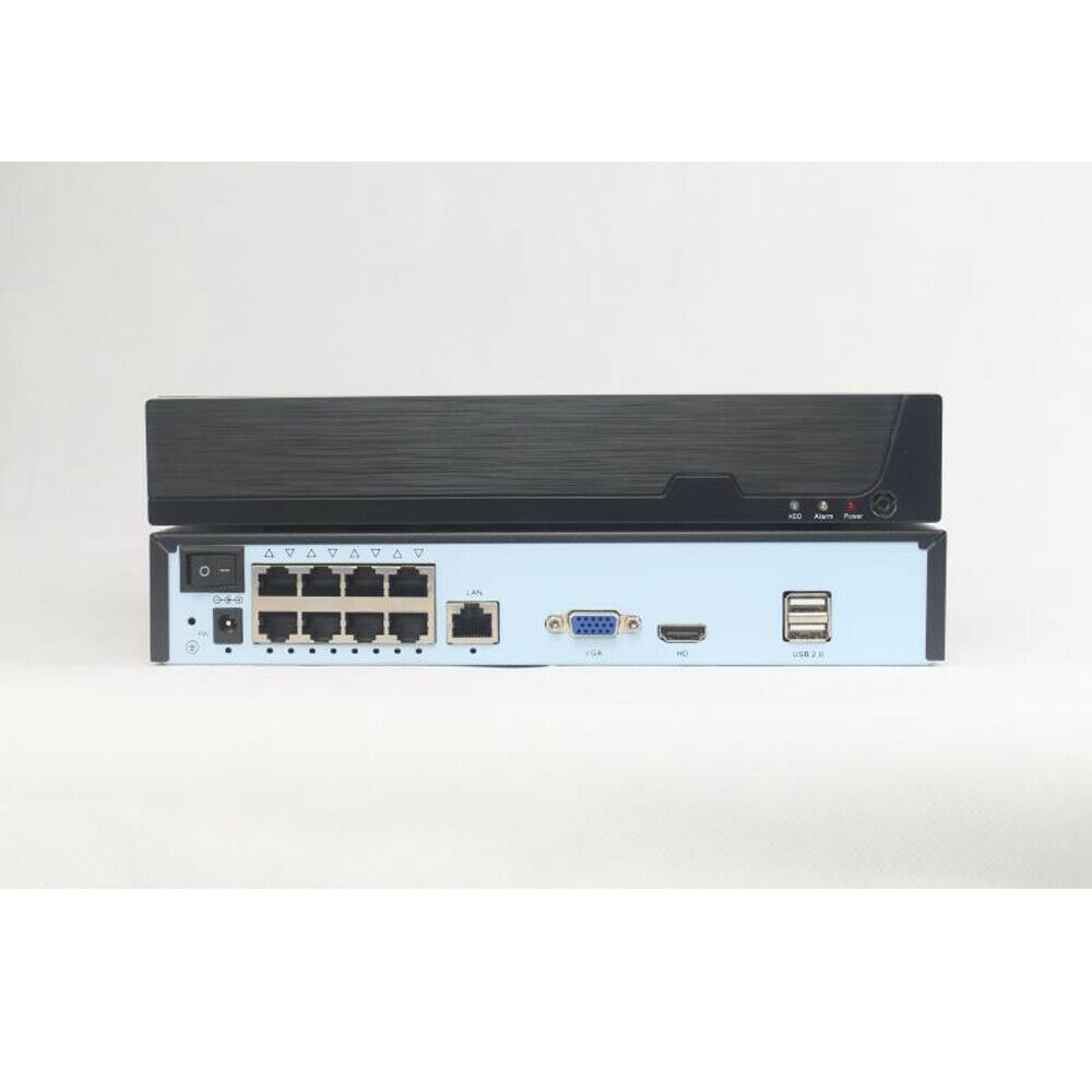 9ch 5MP POE H.265 Human Face Detected Smart NVR with  VGA output with Danale APP Featured Image