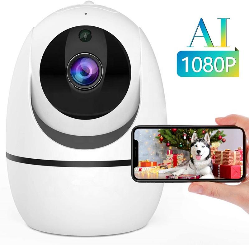 Tuya smart  Home Smart Security IR Cam baby monitor 1080P WIFI IP Wireless  CCTV HD PTZ Camera