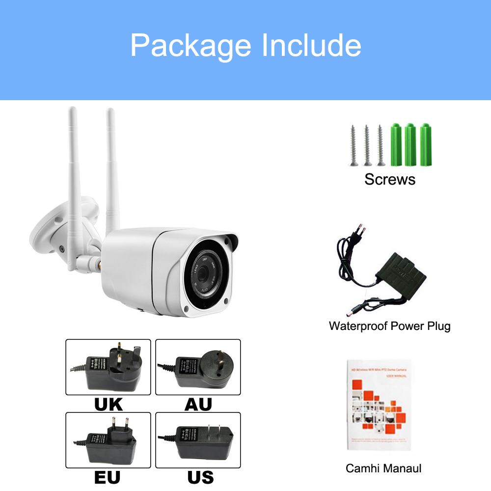 3G 4G SIM Card Camera 1080P Wireless Wifi IR Night Vision Outdoor Waterproof IP CCTV Camera