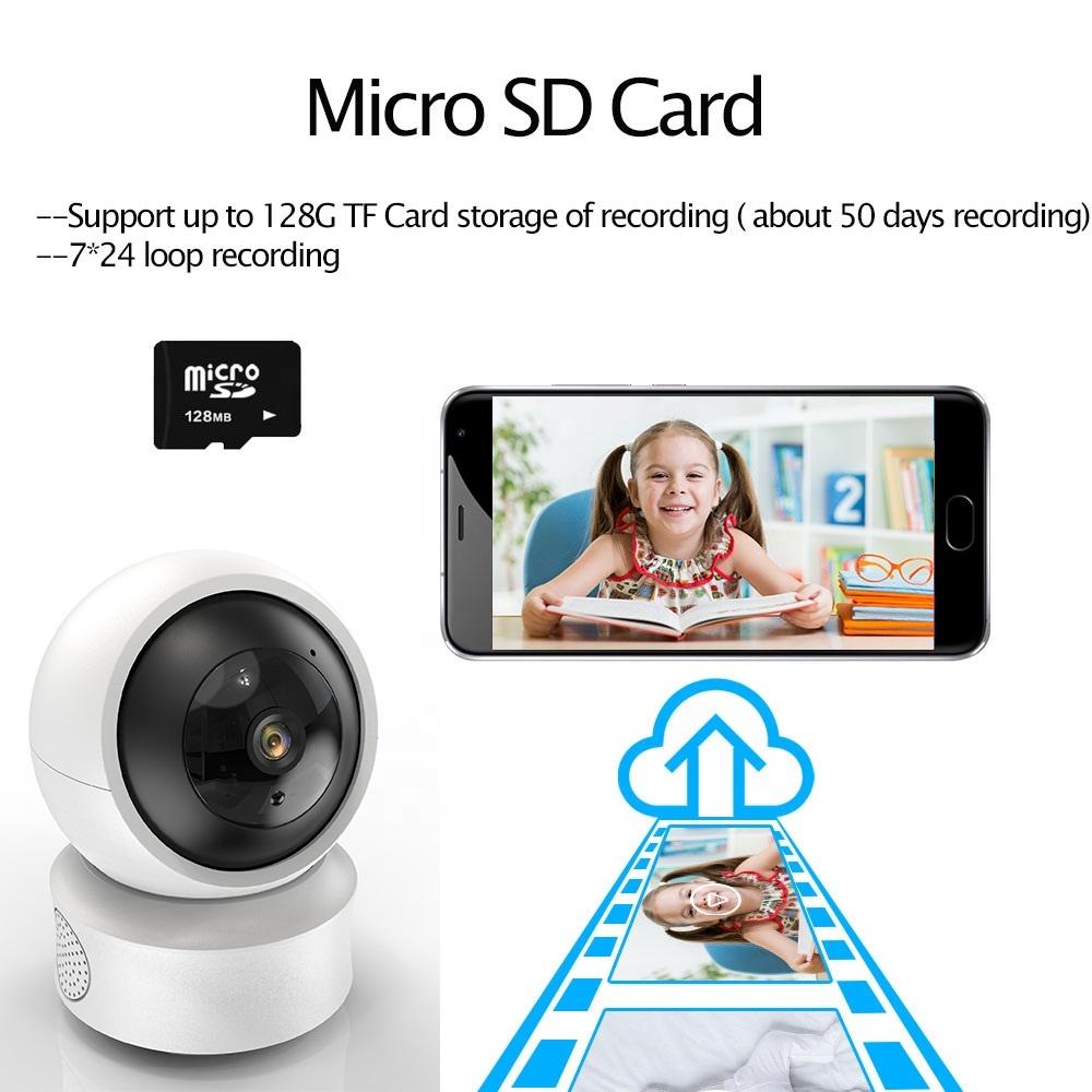 1080P Wireless IP Camera / Nanny Camera Indoor Home Smart Wifi Baby Monitor Pet