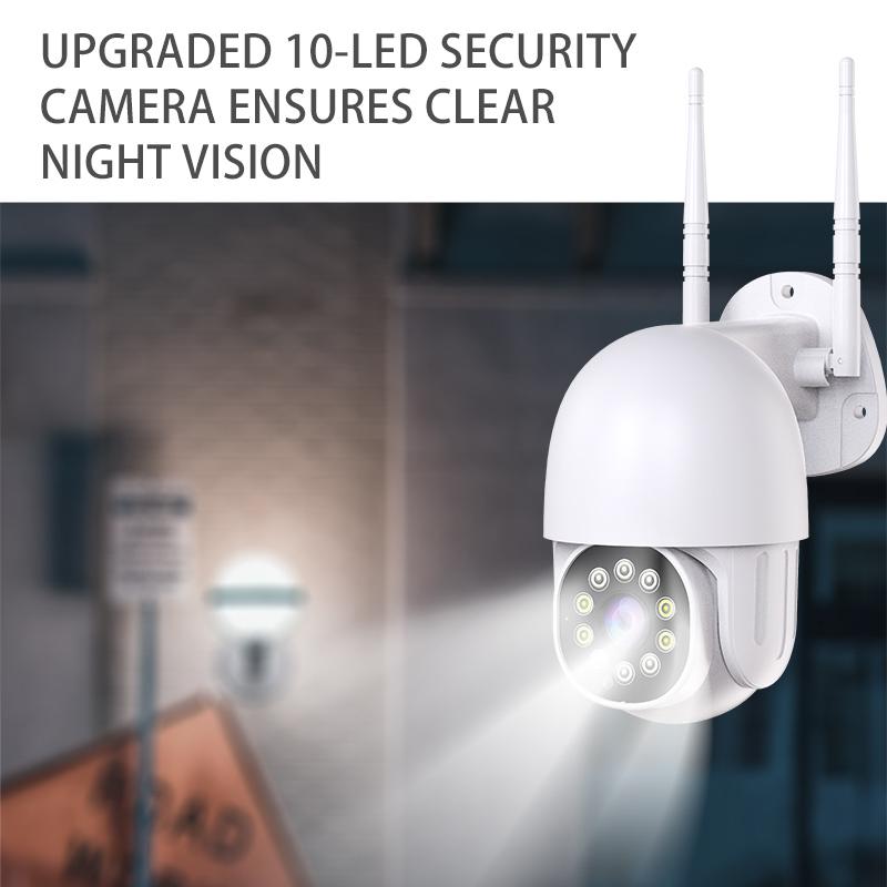 HD 1080P 1.5 inch Mini Outdoor PTZ IP Speed Dome Camera Wifi CCTV Camera Wireless Security Surveillance Mini Ptz Camera