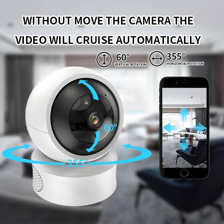 wireless cctv  AI tracking wifi Pan and Tilt Indoor 1080p Wi-Fi Wireless Network Surveillance Camera