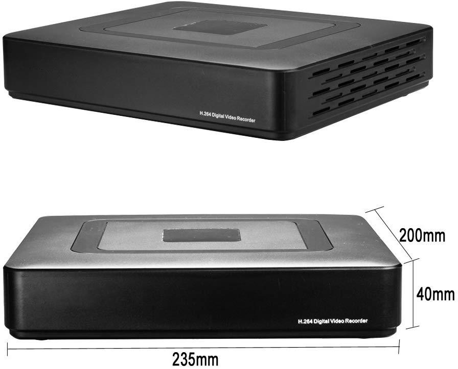 16ch 5MP H.264  P2P NVR CCTV Network Video Recorder