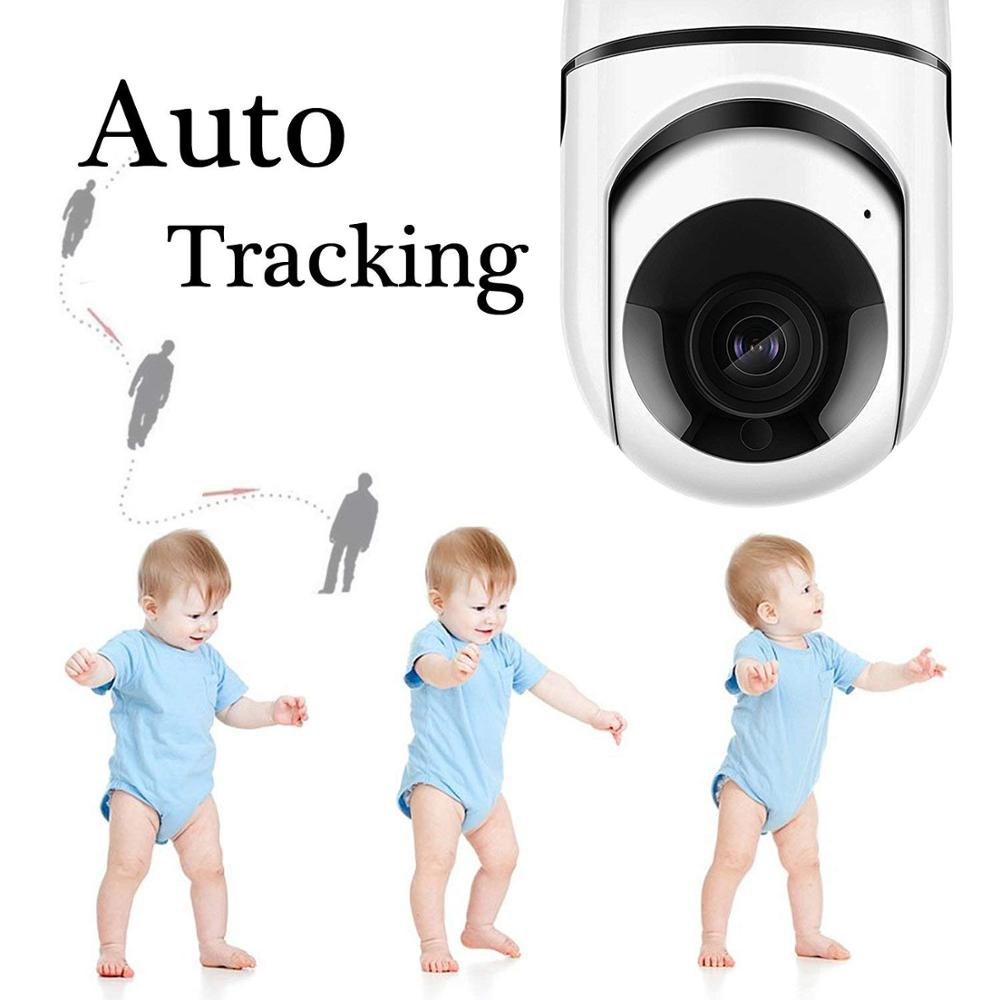 Two way audio security baby & pet monitor cctv smart home with camera 360 surveillance degree wifi mini camera