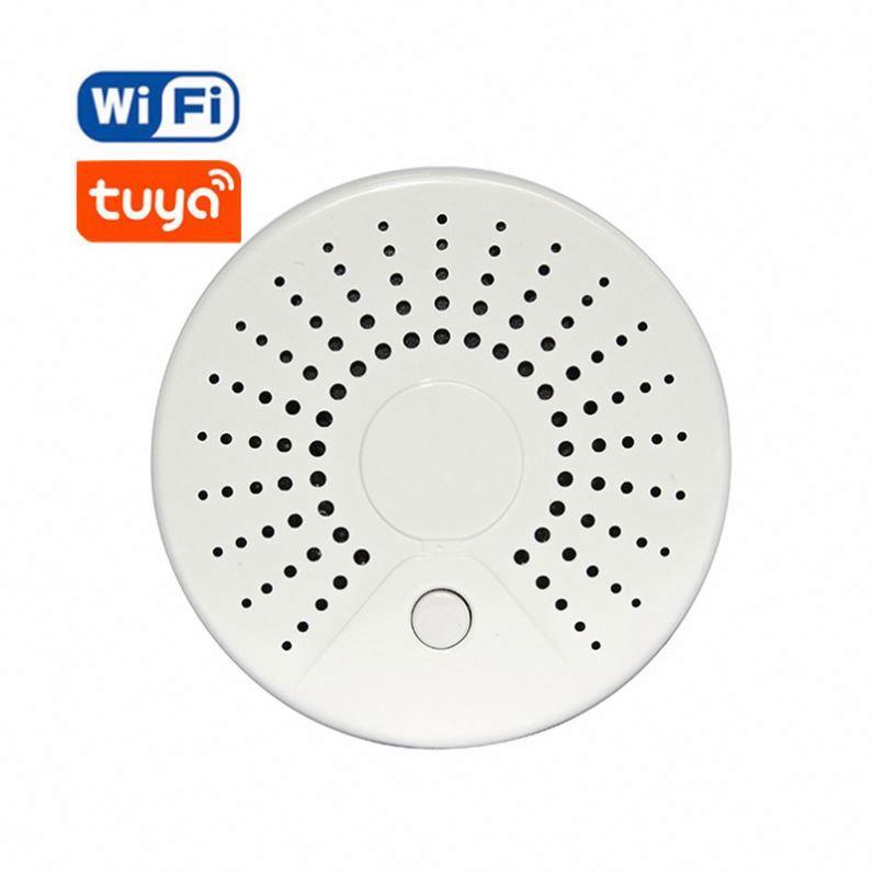 Tuya Smart Home Security WIFI Door Alarm System WiFi Window Door Sensor Detector for  Voice Control