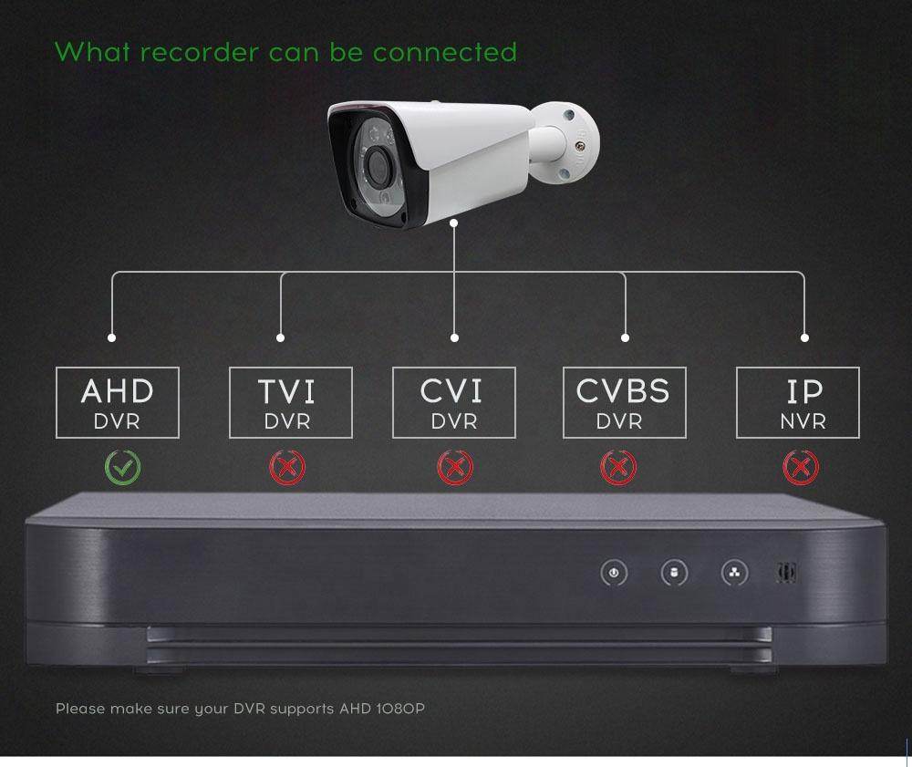 Hot selling Security Camera outdoor bullet IR Vandalproof waterproof AHD  CCTV Camera