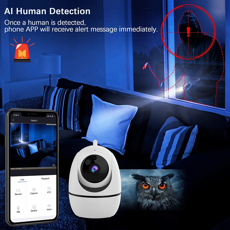HD 1080P Wireless IP Camera WiFi Home Security Surveillance baby monitor cctv camera