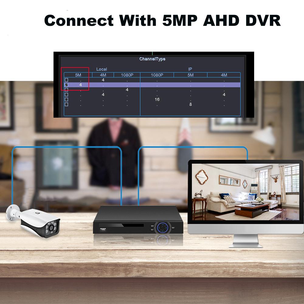 5MP AHD camera SC5239 CMOS 3.6mm Lens Outdoor Indoor Night Vision Dome AHD Camera CCTV Camera
