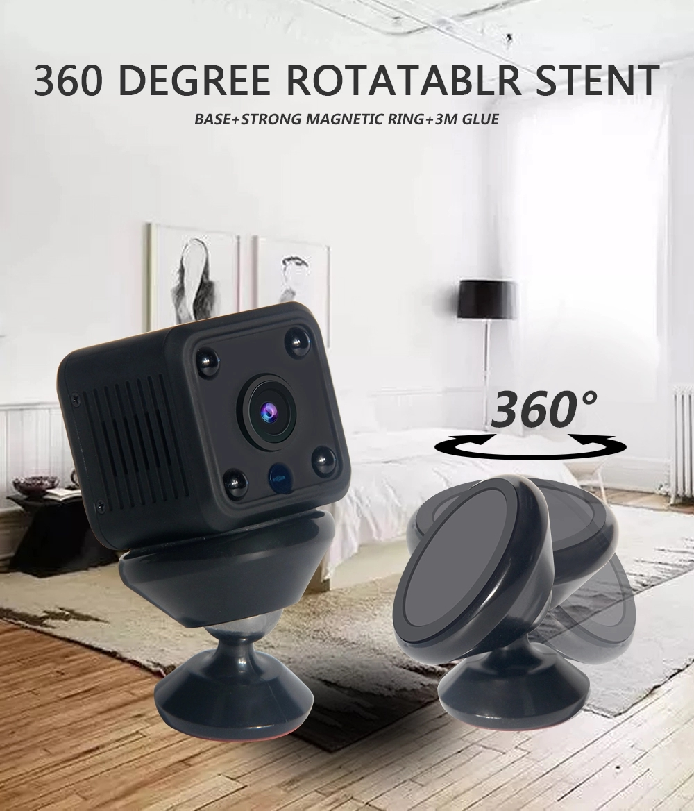 2021 Portable 1MP Night Vision Small Indoor Remote Battery sustainable Mini bus camera