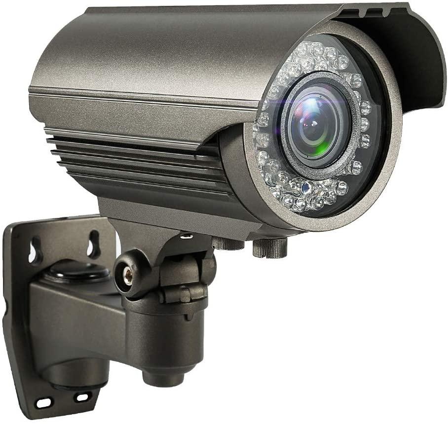 4MP Zoom Bullet AHD Camera Varifocals Lens OSD 72Pcs IR Leds Infrared Waterproof Outdoor Analog Camera