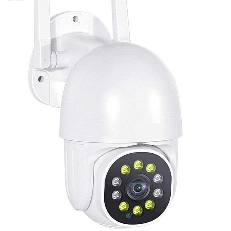 Smart Security Outdoor PTZ 1080P Full HD WiFi IP Cam Mini Pan/Tilt Home Surveillance Camera