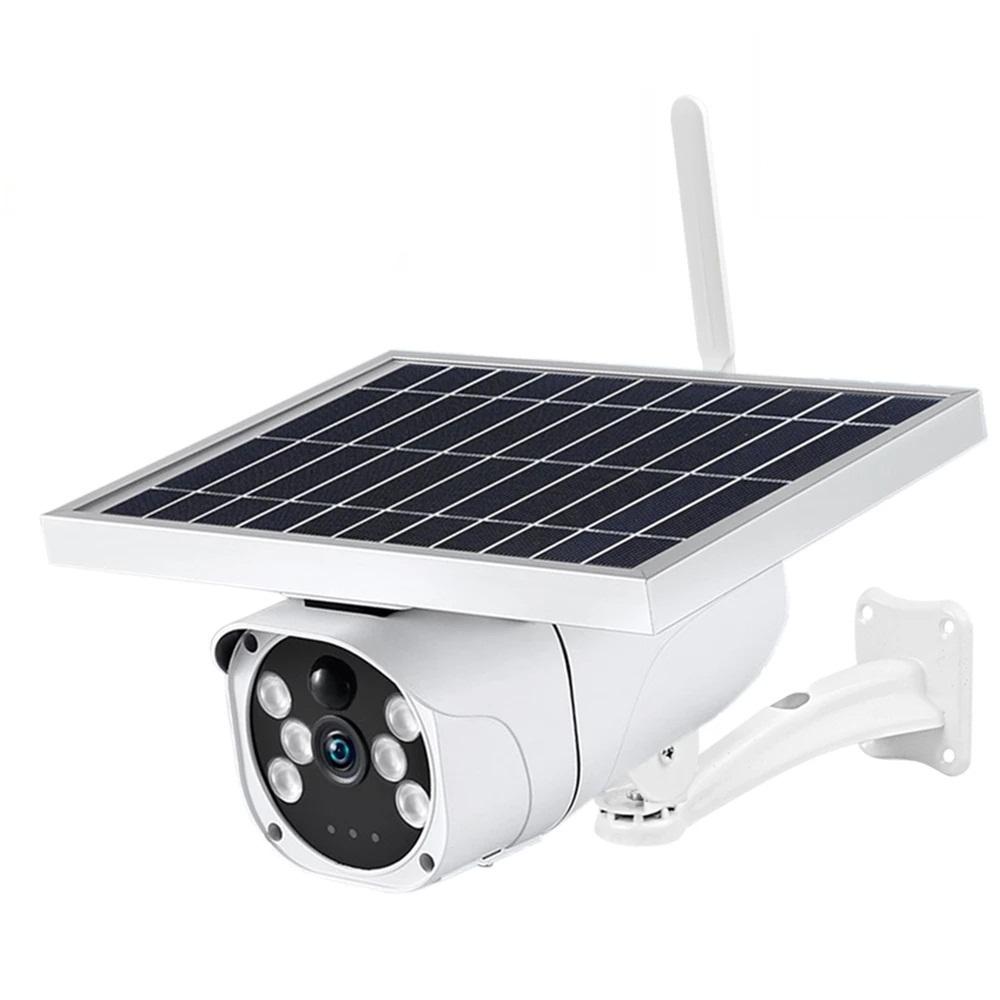 3G 4G SIM Card Solar Camera 1080P HD Outdoor Bu...