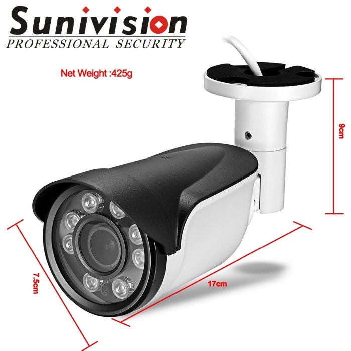top 10 factory china cctv shipset home security AHD cctv cameras prices 2mp with outdoor bullet cctv camera case