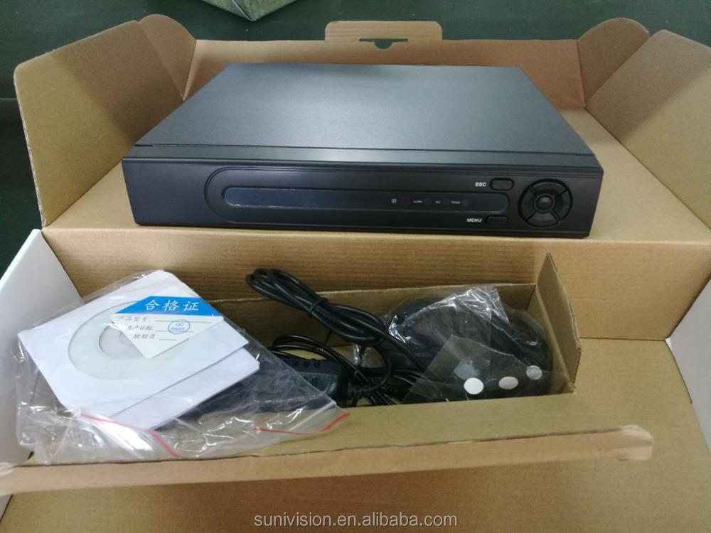 Sunivision 1080P HD 4 channel software dvr h 264