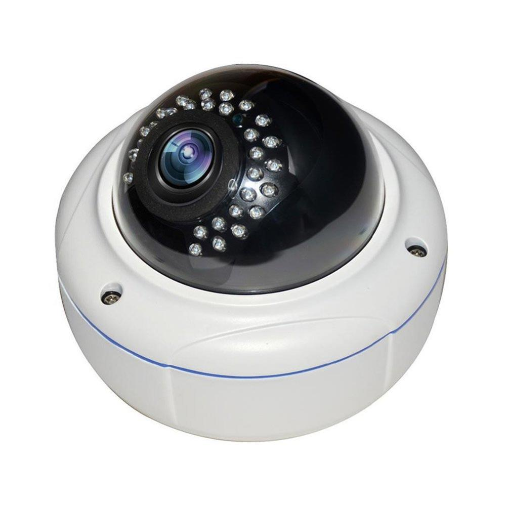 2MP Varifocal Starlight IP IR Vandal eyeball Dome High Definition Security Camera with IP66 rated and for indoor and outdoor