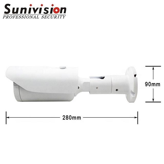 OEM 4MP IP PoE Security Bullet Motorized Zoom AF2.8-12MM 4X Optical Zoom Outdoor cctv face detection Camera H.265 IP67 ONVIF