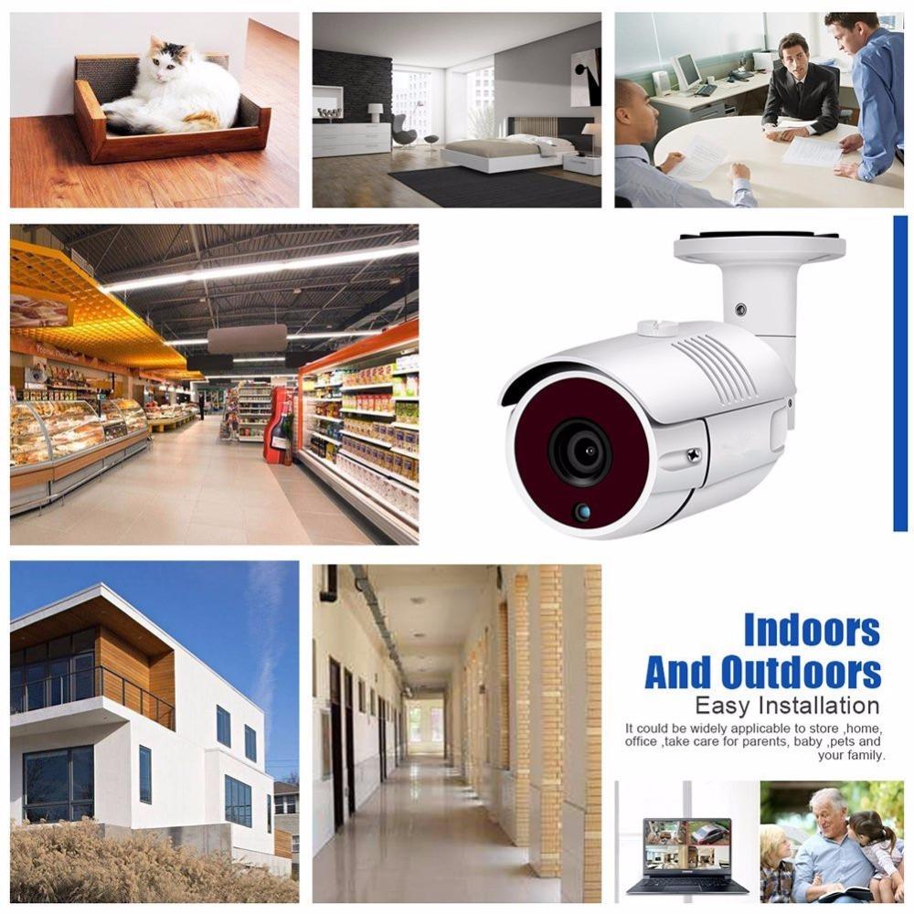 SUNIVISION Factory!!! 1080P PoE Security Camera Surveillance CCTV System with 4 HD Superior Night Vision Cameras