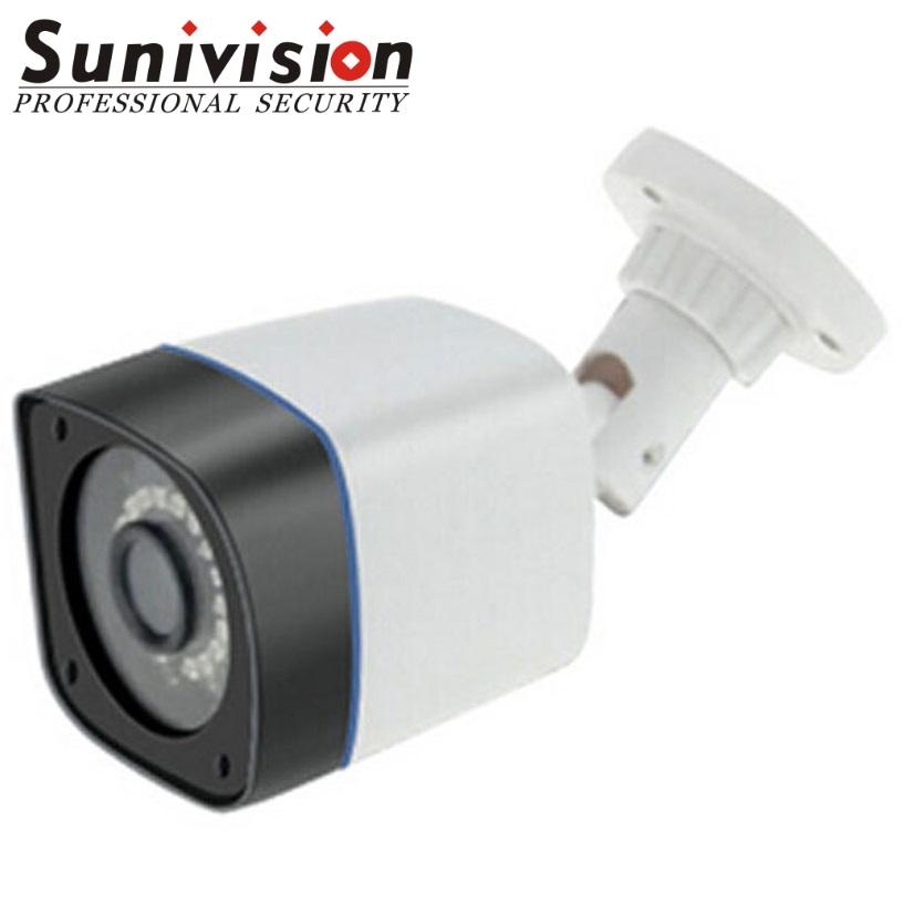 xvi 5mp plastic bullet proof housing cctv camera