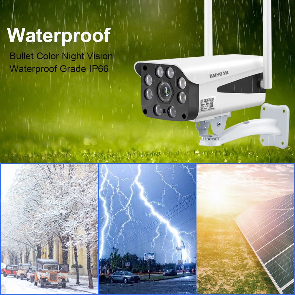 4G Security Camera CCTV 5MP HD WIFI IP Camera Outdoor Waterproof P2P infrared Night Vision Bullet Surveillance Cam