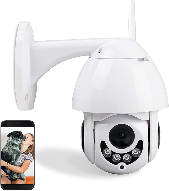 Wifi IP Camera Outdoor Night Vision Ptz Cctv Wireless Network 1080P Hd  Smart Home 360 Auto Tracking Wifi Cameras PTZ