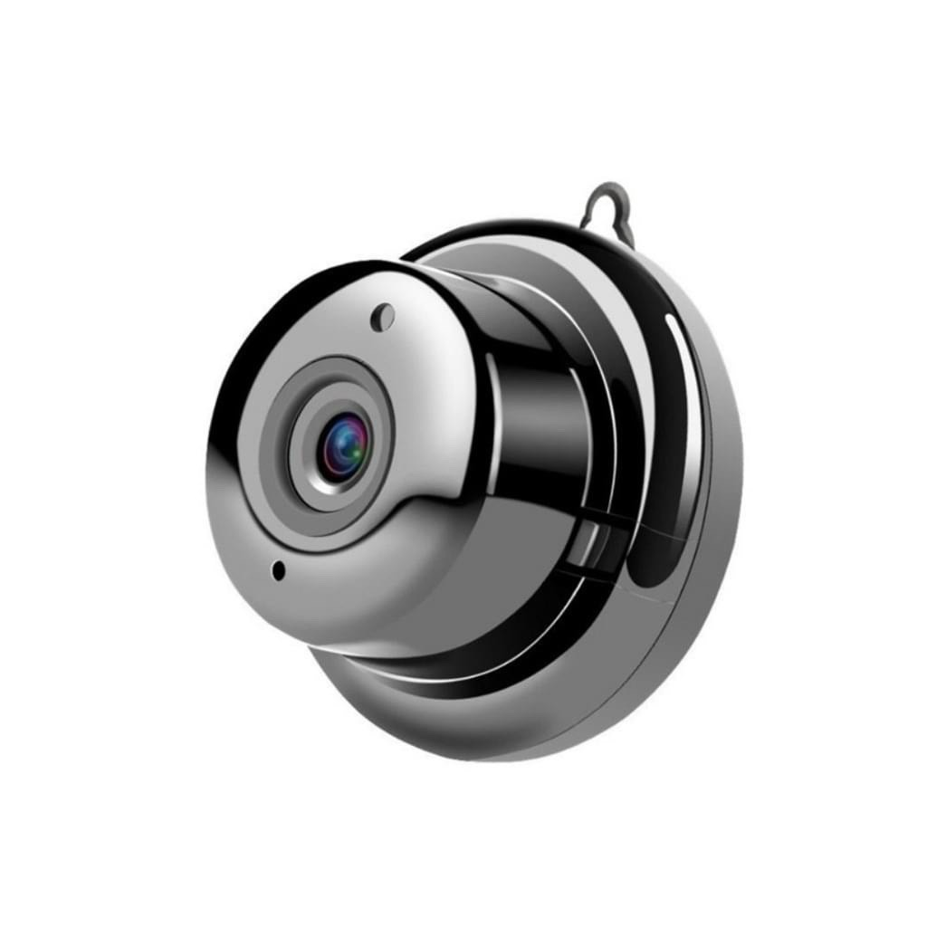Black Wireless Indoor Baby Monitor 2.4ghz 1080