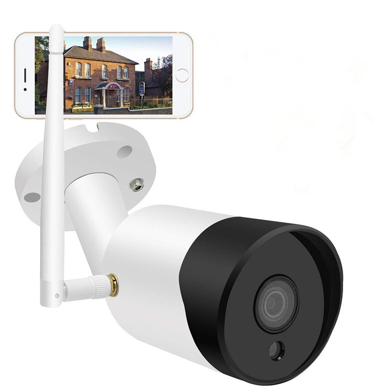 2.4G 1080P WiFi Wireless Outdoor Security Camera  Night Vision Security Camera with Two-Way Audio, Motion Detection, Featured Image