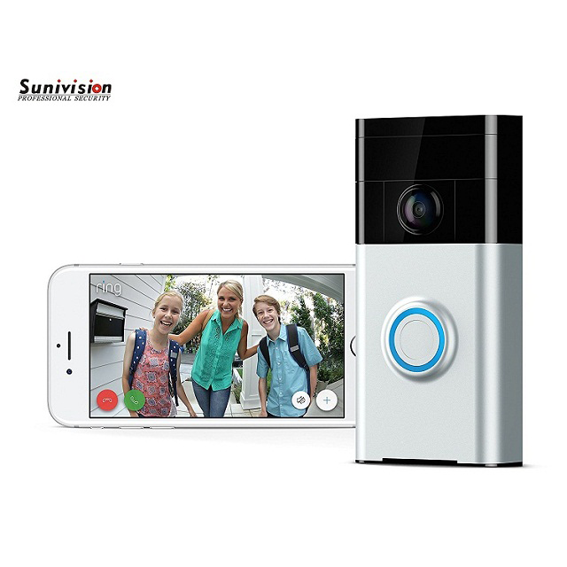 H.264+ 1080P CCTV WIFI Wireless Video Doorbell Camera for Apartments