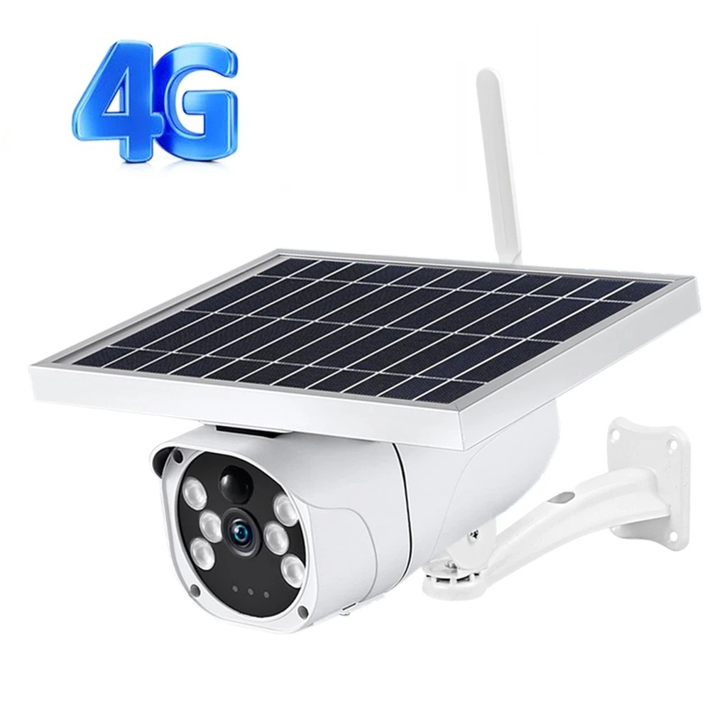 1080P HD 2MP 4G Camera solar power WiFi IP cameras IR vision 4G solar IP cameras P2P solar wifi cam