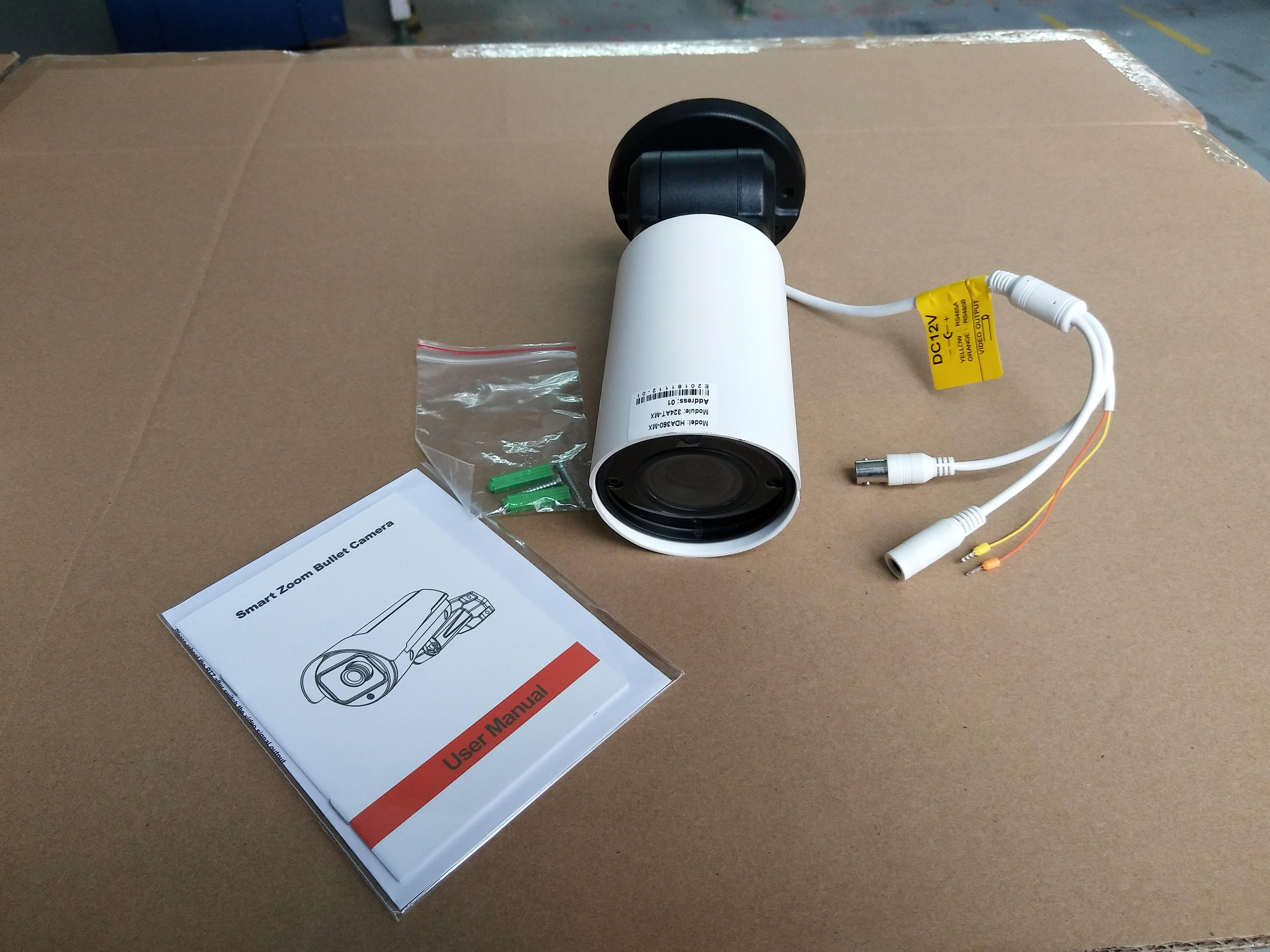 1080P 2MP Motorized 2.8-12mm Auto-Focus Lens IR Motion Detection Pan Tilt Zoom Bullet Security PTZ Camera