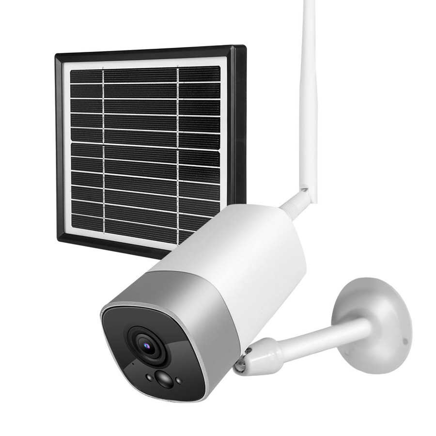 1080P Waterproof Outdoor WIFI Wireless Solar Battery Power Surveillance Security PIR Motion Detection Outdoor Wall CCTV Camera