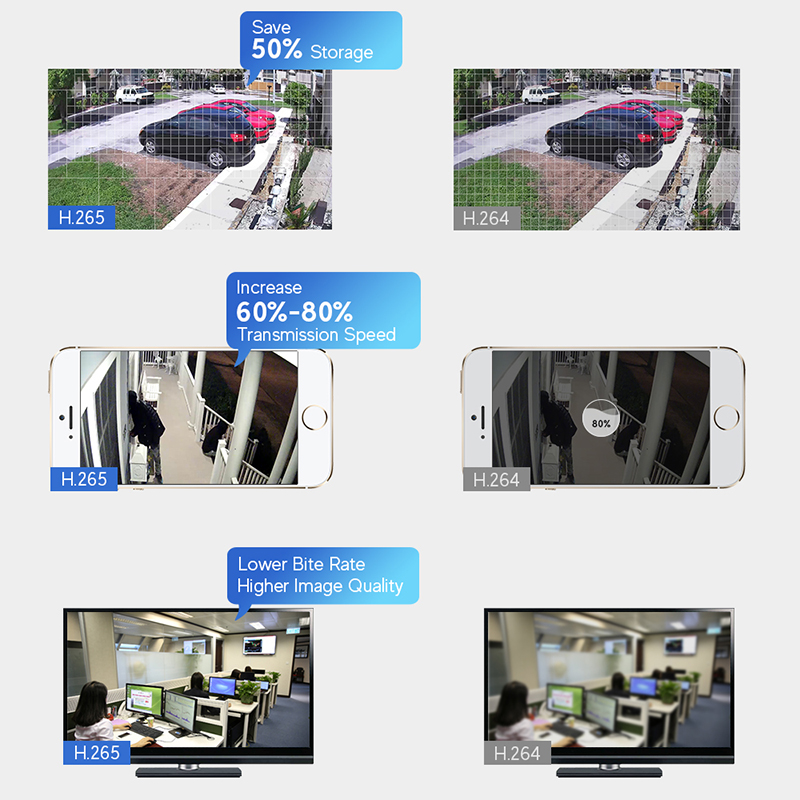 8ch 1080p kit cctv wifi security nvr system infrared night vision 8 channel h.265 dvr set outdoor waterproof nvr kit wifi camera