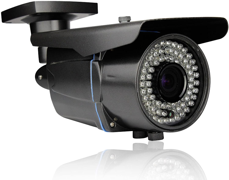 4MP Automatic Zoom Varifocal Lens AHD CCTV Camera Infrared Outdoor Gray Bullet Street Surveillance CCTV Camera