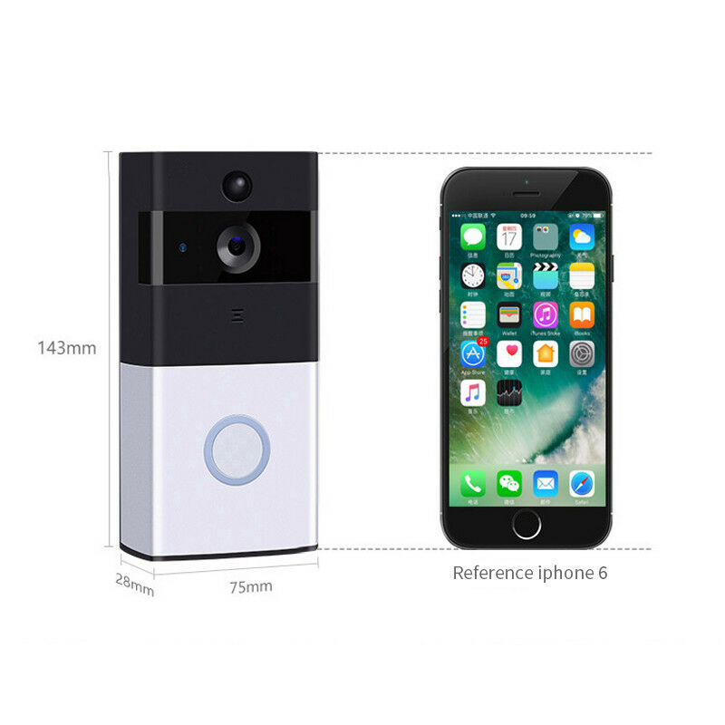 ip doorbell WiFi Wireless Doorbell Camera Smart Video Door Bell Intercom CCTV Phone camera
